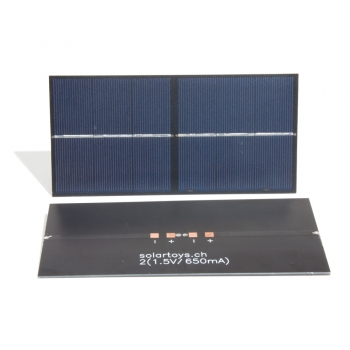 Rennsolarmodul 2x(1.5V/650mA)
