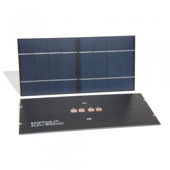 Rennsolarmodul 2x(2V/900mA)